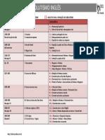 Tabela Absolutismo Inglesa