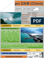 Project Management - 3 Gorges Dam