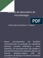 Normas Do Laboratório de Microbiologia