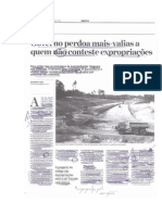 'Governo perdoa mais-valias a quem não conteste expropriações' (Jornal de Negócios, 18.08.2014)