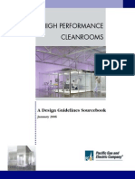 Cleanroom Air Design Manual