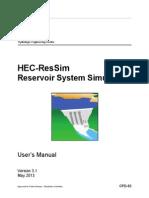 HEC-ResSim 31 UsersManual