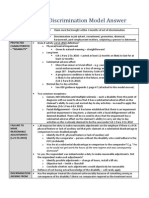 WS7 - Disability Discrimination Model Answer