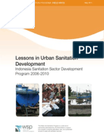 WSP Lessons Urban Sanitation Indonesia