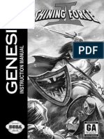 Genesis Shining Force 2 Manual