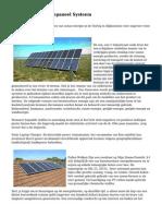 Doe-Het-Zelf Zonnepaneel Systeem