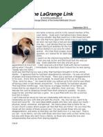 lagr district newsletter 2014-09