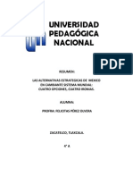 3. LECTURA AZUL Las Alternativas Estrategicas de México