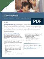 TRM Training Services Brochure