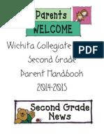 Second Grade Parent Handbook 2014-2015 (1)