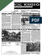 Industrial Worker - Issue #1768, September 2014