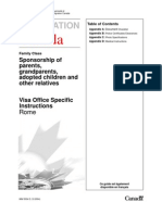 Canada Immigration Forms