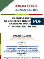 06 Justifikasi RKL RPL