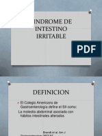 Sindrome de Intestino Irritable (1)