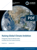 Raising Global Climate Ambition