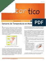 Sensores de Temperatura en Motores