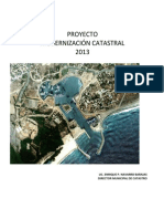 Proyecto Modernización Catastral 2013