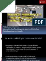 Notiuni de Radiologie Interventionala - R Dumitru