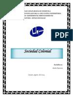 Caracterización Socio Económica de La Venezuela Colonial