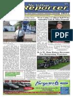 The Village Reporter - September 3rd, 2014