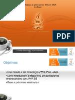 Aplicaciones Web Java J2EE Parte Uno