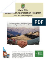 2014 Landowner Appreciation Program - Idaho Fish