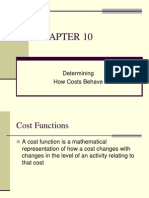 Cost Accounting Ch 10