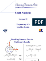 Shaft Analysis