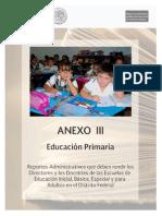 Anexo 3 Primaria 2014
