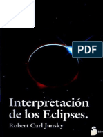 Interpretación de Los Eclipses - Robert Carl Jansky