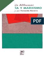 Louis Althusser - Filosofia y Marxismo