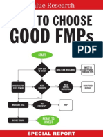 How to Choose Good FMPs