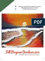 MMCC Fall Brochure 2014