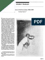 Mujer y Trabajo 1960 - 1990