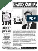 HRWF September 2014 Redwood Alert