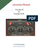 Crystal Radio Kit - Traveler II - Instruction Manual