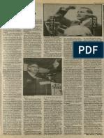 A Maverick in Congress? | Vanguard Press | Feb. 18, 1988
