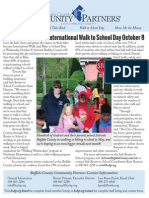 Community Partners September 2014 Newsletter