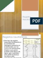 Registro Neutrónico