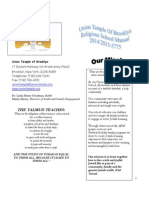 Religious School Manual 2014-2015 (1)