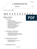 Busko, Bernd - Excel VBA Handbuch