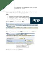 ALE - Error Handling Through Workflow