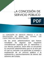 La Concesión de Servicio Público