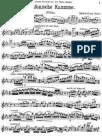 Karg Elert Sinfonische Flute