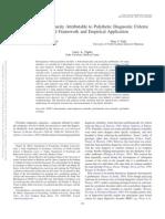 JAP. Polythetic Diagnostic Criteria