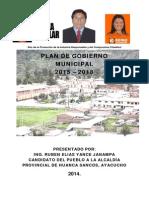 Plan de Trabjo Provincia Hcos