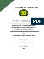 Tesis Disminucion Del Contenido de Plomo de Efluentes Metalurgicos Por Adsorcion Empleando Bentonita Pilareada