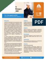 Inf_Curso_ ISO 31000 - 14_Ago_2014