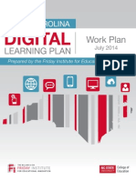 NC Digital Learning Plan - Work Plan