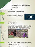 Actividades ecoturísticas